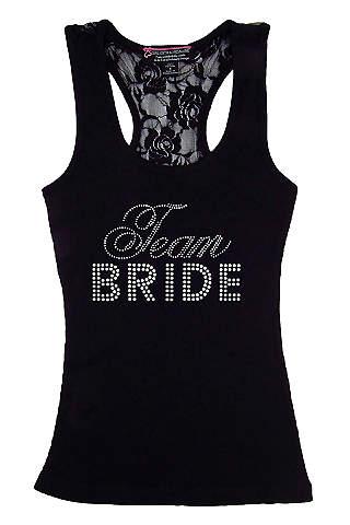 DB Exclusive Lace Team Bride Racerback Tank