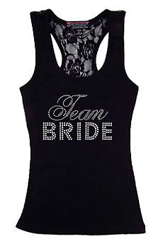 DB Exclusive Lace Team Bride Racerback Tank