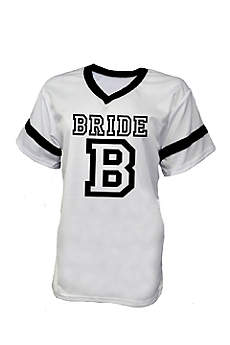 White Bride Football Jersey