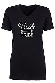 Bride Tribe V Neck Tee DKVNT1540-BT