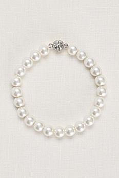 Pearl Bracelet with Magnetic Closure DU10091B