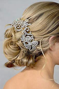 Swirled Crystal Flower Headband