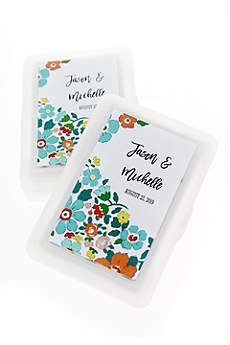 Personalized Exclusive Floral Playing Cards