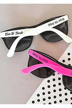 Personalized Wedding Sunglasses EB3107