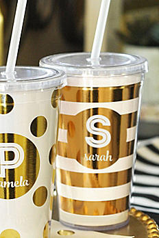 Personalized Metallic Foil Tumbler EB3111FW