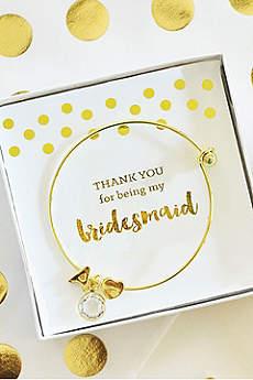 Personalized Gold Monogram Bracelets