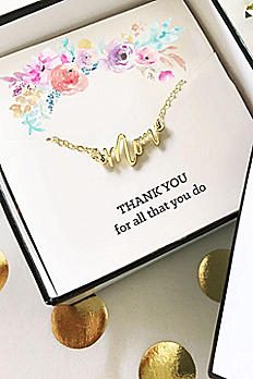 Gold Mom Necklace EB3151MOM