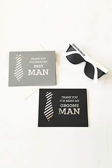 Groomsman Cards Set of 4