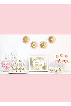 Gold Glittering Decor Kit EB4011WD
