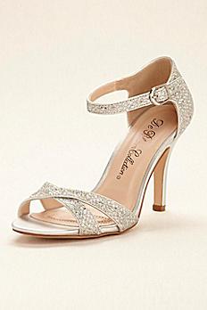 Glitter Sandal with Ankle Strap ELTON5