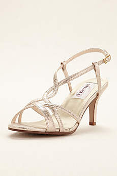 Dyeables Grey Sandals (Elvira Strappy Sandal)