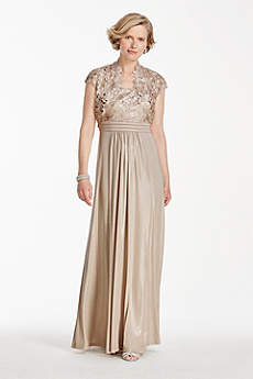 Champagne Formal &amp- Evening Dresses - David&-39-s Bridal