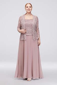Long A-Line Jacket Formal Dresses Dress - Emma Street