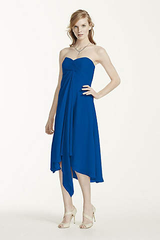 Navy Blue &amp- Royal Blue Bridesmaid Dresses - David&-39-s Bridal