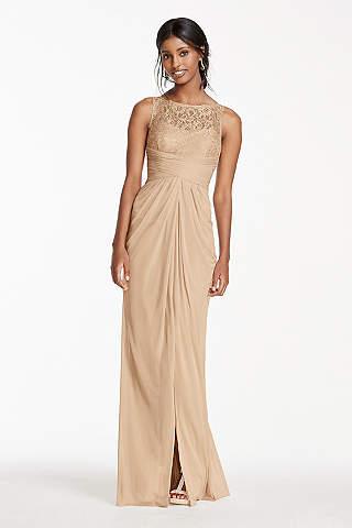 Gold & Champagne Bridesmaid Dresses | David's Bridal