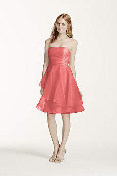 Coral Bridesmaid Dresses: Short &amp Long  David&39s Bridal
