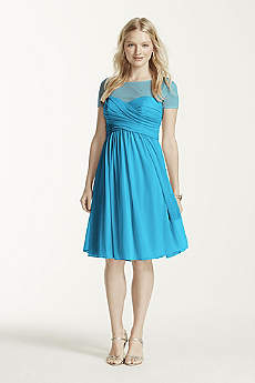 Teal Bridesmaid Dresses: Short &amp Long Styles  David&39s Bridal