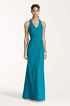 Long Sheath Halter Dress -