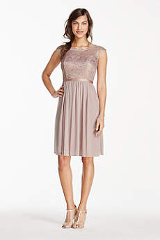 Short Bridesmaid Dresses in Various Styles | David's Bridal