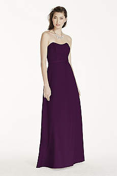Plum and Eggplant Dresses &amp- Gowns - David&-39-s Bridal