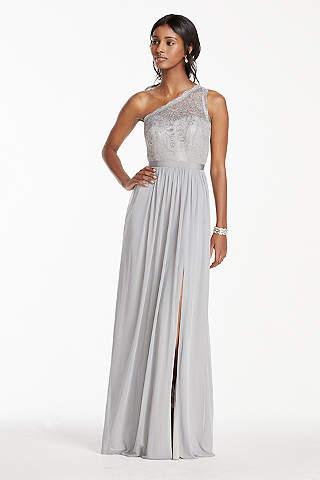 Silver Bridesmaid Dresses: Short & Long | David's Bridal