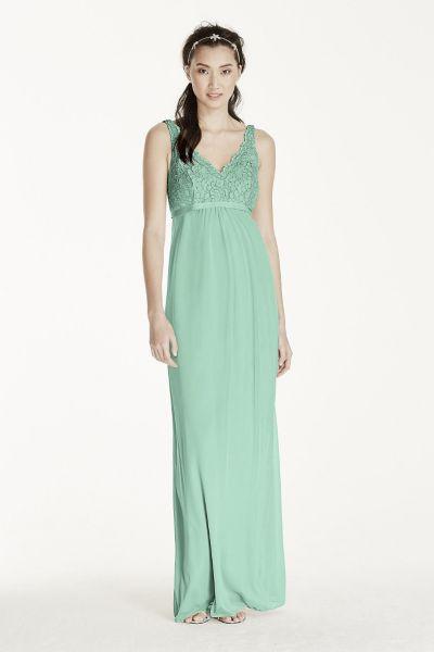 Lace Mesh Dress F17087