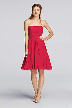Short Bridesmaid Dresses in Various Styles  David&39s Bridal
