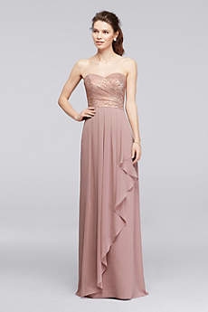 Gold &amp Champagne Bridesmaid Dresses  David&39s Bridal