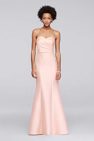 Sweetheart neckline dresses and wedding gowns davids bridal long mermaid trumpet strapless formal dresses dress davids bridal junglespirit Choice Image