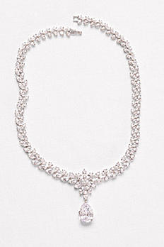 Extravagant Cubic Zirconia Collar Necklace F2002