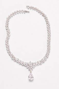 Extravagant Cubic Zirconia Collar Necklace