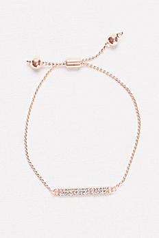 Pave Bar Pull Bracelet F2006