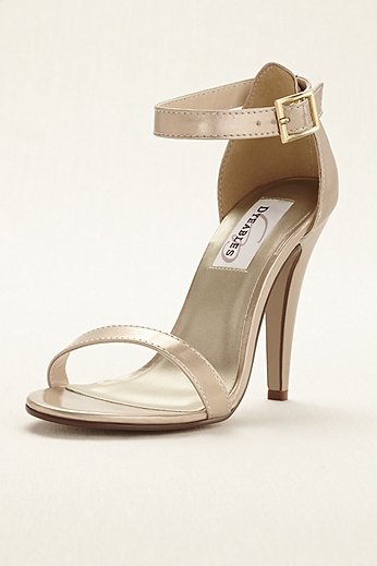 Faith Metallic Ankle Strap Sandal Faith