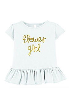 Flower Girl Ruffle Shirt FG104