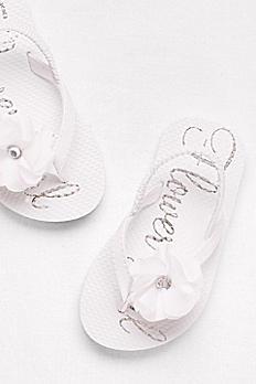 Flower Girl Slingback Flip Flops FG7062