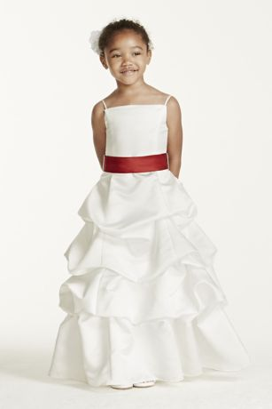 FLOWER GIRL DRESSES DAVIDS BRIDAL - Sanmaz Kones