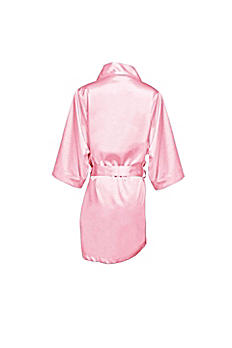 Blank Flower Girl Satin Robe FGBLNKRB