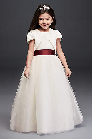 Flower girl dresses in various colors styles davids bridal dress davids bridal mightylinksfo Image collections