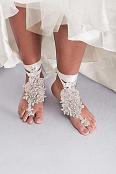 Beaded Floral Foot Jewelry G22478