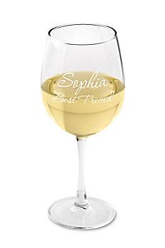 Personalized Connoisseur White Wine Glass GC408