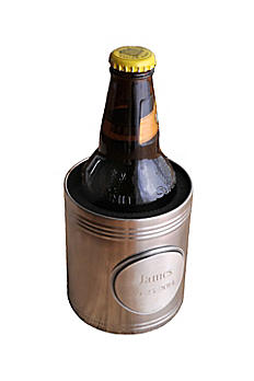 Personalized Insulated Can Holder with Medallion GC834