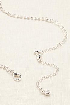 Rhinestone Necklace Extender GEM43041