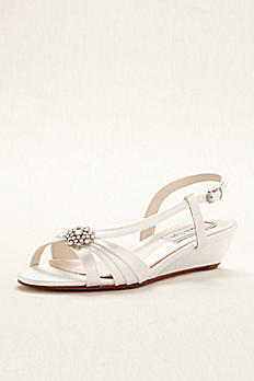 Geri Dyeable Wedge Sandal by Touch Ups Geri