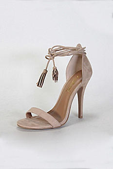 Ankle-Tie Heels with Tassels GIRLTALK13S