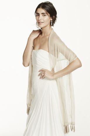 David's Bridal Wraps