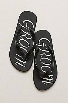 Groom Flip Flops GROOMFF1