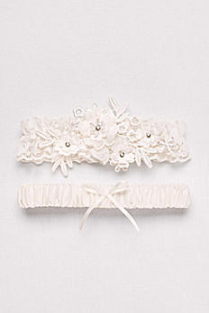 Soft Flower Garter Set GTR71057GIF