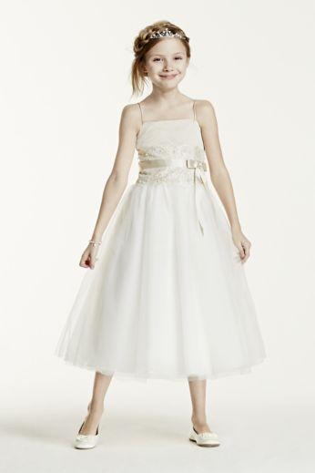 FLOWER GIRL DRESSES DAVIDS BRIDAL - Rufana Fana