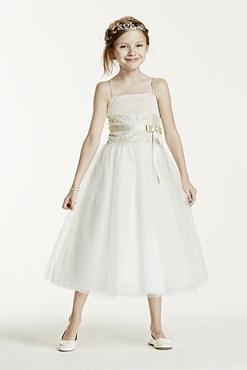 Davids Bridal Flower Dresses 112