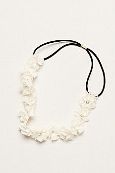 Flower Girl Flower Headband with Crystal Centers H516051